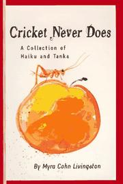 Cover of: Cricket never does