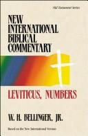 Cover of: Leviticus and Numbers | W. H. Bellinger