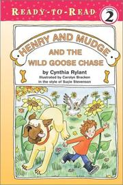 Cover of: Henry and Mudge and the wild goose chase | Jean Little