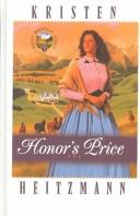 Cover of: Honor's price