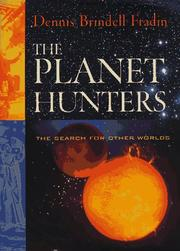 Cover of: The planet hunters: the search for other worlds