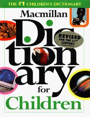 Cover of: Macmillan dictionary for children |