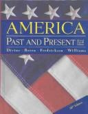 Cover of: America, past and present