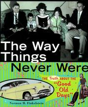 Cover of: The way things never were
