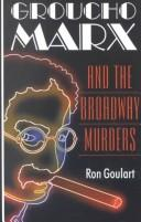 Cover of: Groucho Marx and the Broadway murders