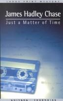 Cover of: Just a matter of time