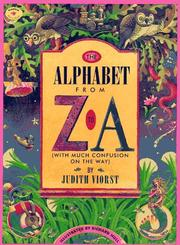 Cover of: The Alphabet from Z to A: (With Much Confusion on the Way)