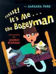 Cover of: Psssst! It's me---the Bogeyman