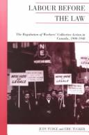 Cover of: Labour before the law | Judy Fudge