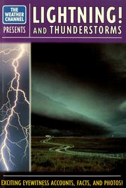 Cover of: Lightning! and thunderstorms