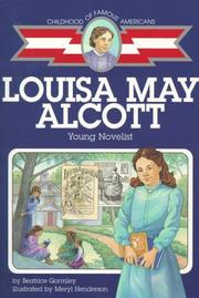 Cover of: Louisa May Alcott | Beatrice Gormley