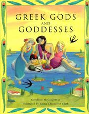 Cover of: Greek gods and goddesses