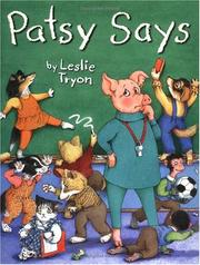 Cover of: Patsy says