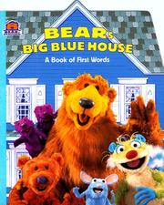Cover of: Bear's Big Blue House: a book of first words