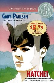 Cover of: Hatchet | Gary Paulsen