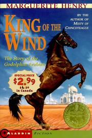 Cover of: King of the Wind - Newbery Promo '99: The Story of the Godolphin (Aladdin Fiction)