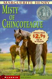 Cover of: Misty of Chincoteague - Newbery Promo '99