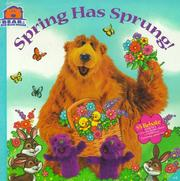 Cover of: Spring has sprung!