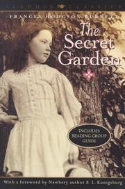 Cover of: The Secret Garden (Aladdin Classics) by Frances Hodgson Burnett