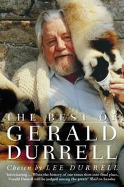 Cover of: Best of Gerald Durrell