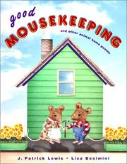 Cover of: Good mousekeeping: and other animal home poems