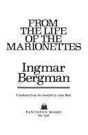 Cover of: From the life of the marionettes