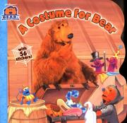 Cover of: A costume for Bear