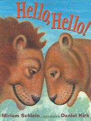 Cover of: Hello, Hello! | Miriam Schlein