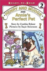 Cover of: Henry and Mudge and Annie's perfect pet