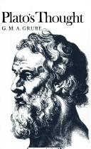 Cover of: Plato's thought
