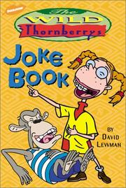 Cover of: The Wild Thornberrys joke book