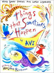 Cover of: Things that sometimes happen