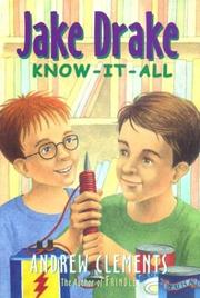 Jake Drake know-it-all by Andrew Clements