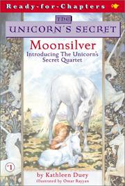 Cover of: Moonsilver