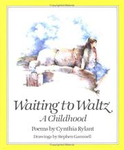 Cover of: Waiting to Waltz