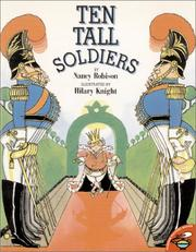 Cover of: Ten Tall Soldiers | Nancy Robison
