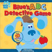 Cover of: Blue's ABC Detective Game (Blue's Clues)