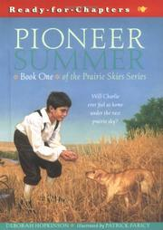 Cover of: Pioneer summer