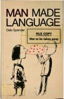 Cover of: Man made language