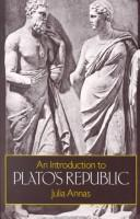 Cover of: An introduction to Plato's Republic