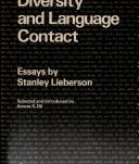 Cover of: Language diversity and language contact | Stanley Lieberson