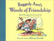Cover of: Raggedy Ann's Words of Friendship