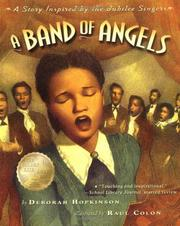 Cover of: A band of angels: A Story Inspired by the Jubilee Singers
