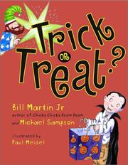 Cover of: Trick or treat?