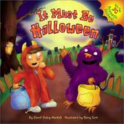 Cover of: It Must Be Halloween