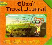 Cover of: Eliza's Travel Journal
