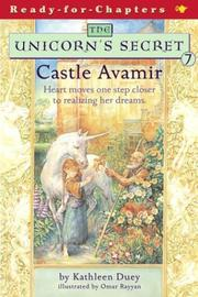 Cover of: Castle Avamir