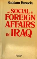 Cover of: Social and foreign affairs in Iraq