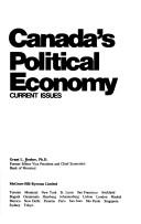 Cover of: Canada's political economy | Grant L. Reuber