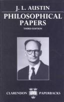 Cover of: Philosophical papers